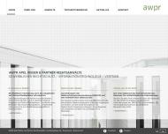 Bild Webseite AWPR Apel Weber und Partner Rechtsanwälte mbB Dortmund