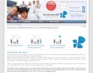 Bild Webseite Familienbüro24 Magdeburg
