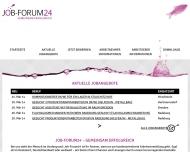 Job-Forum24.de - Ihre Arbeitsvermittlung