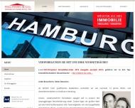 Bild Webseite Kielpinski & Co. Immobilien Hamburg
