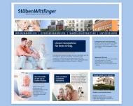 Bild Webseite Grundstücksgesellschaft Rosenstraße Hamburg