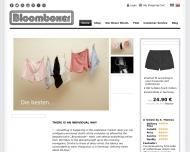 Bild Webseite Bloomboxer München