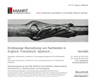 Bild Mahrt Fachübersetzungen GmbH