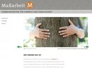 Bild Maßarbeit Kommunikation für Umwelt & Gesellschaft