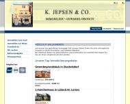 Bild Webseite K. Jepsen Lübeck