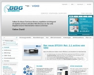 Bild Webseite BBG Automotive Frankfurt