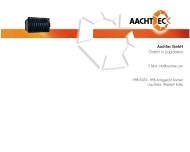Bild Webseite AachTec Aachen