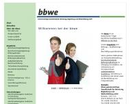 Bild bbwe Gemeinnützige Ges. für Beratung, Begleitung und Weiterbildung mbH