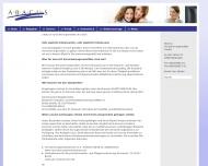 Website abacus Versicherungsmaklergesellschaft