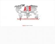 Bild Webseite A & B Senatore Logistics Nürnberg