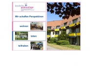 Bild Webseite BBW - Betreuung Beratung und Wohnbaugesellschaft für Behinderte gemeinnützige Nürnberg