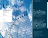 Website ABG Allgemeine Bauträgergesellschaft