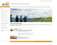 Bild Webseite ABO Wind Verwaltung Heidesheim am Rhein