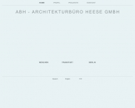 Bild Webseite ABH-Architekturbüro Heese München