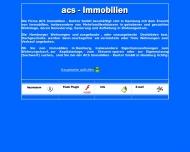 Bild Webseite ACS Immobilien-Kontor Hamburg
