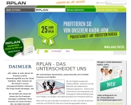 Bild Webseite ACTANO München