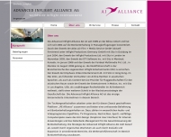 Website Advanced Inflight Alliance
