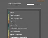 Bild Webseite Badczong & Rinck Hamburg
