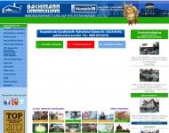 Bild Webseite Bachmann Immobilien Berlin