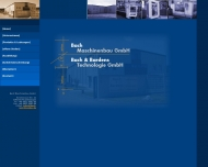 Bild Webseite Bach Verwaltungs Feuchtwangen