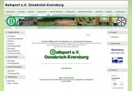 Bild Webseite Ballsport Osnabrück