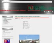 Bild Webseite BÄHR greentec Innovationen & Produktentwicklung Illerrieden