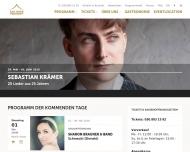 Bild Webseite Bar jeder Vernunft Veranstaltung Organisations Berlin