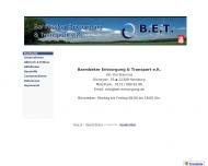 Bild Webseite Barmbeker Entsorgung & Transport Hamburg