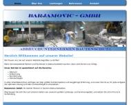 Bild Barjamovic Abbruchunternehmen Bautenschutz GmbH