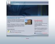 Bild Webseite Bankimmobilien Vertriebsgesellschaft Halle