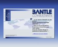 Bild Webseite Bantle Consultants, Ges.f. Unternehmensberatung u. Personalmanagement Köln