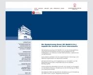 Bild Webseite Baubetreuung Essen Hamburg