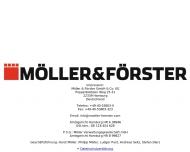 Bild Webseite Bauking Möller & Förster Hamburg