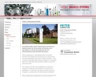 Website Bausch + Ströbel Maschinenfabrik Ilshofen Verwaltungs