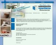 Website Baukeramik Verfürth