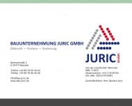 Bild Bauunternehmung Juric GmbH