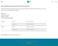 Bild Webseite Ärzteservice Niederrhein Aachen