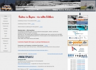 Bild Webseite Bayerischer Ruderverband München