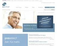 Bild Webseite Ärztliche Verrechnungsstelle Büdingen Büdingen