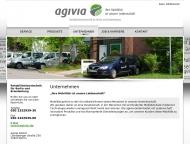 Bild Webseite Agivia Berlin