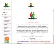 Bild Webseite African Angel Düsseldorf