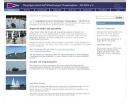 Bild Webseite Airbus Sportgemeinschaft Hamburg Hamburg