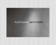 Bild Webseite AIXCLUSIVE cars 'n more Verwaltung Aachen