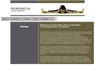 Bild Webseite Akrobatia Versicherungsmakler UG München