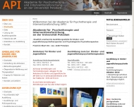 Bild Akademie für Psychotherapie und Interventionsforschung GmbH