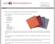 Bild Webseite AKS Teppichfliesen Köln Rösrath
