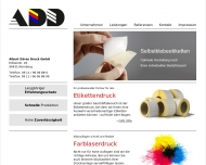 Bild Webseite Albert Döres-Druck Nürnberg