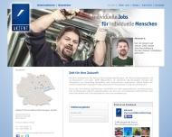 Bild Webseite Akzent Personaldienstleistungen Mitte Berlin