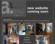 Bild Webseite Alfer Licht München