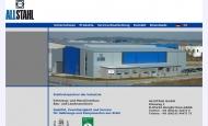 Bild Webseite ALLSTAHL - Gesellschaft Bergkirchen
